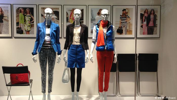 Mannequins in a shop window in Bonn, Germany (Photo: DW/M. Mohseni)