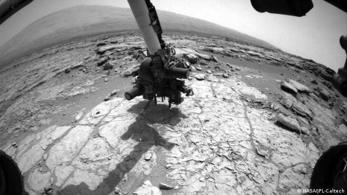 Picture of Curiosity's drill