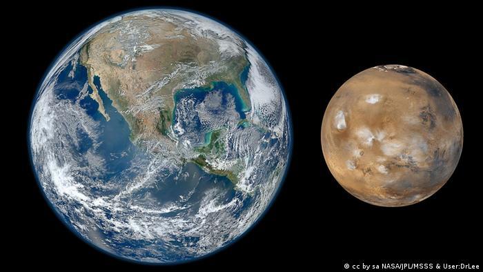 Bildergalerie Mars (cc by sa NASA/JPL/MSSS & User:DrLee)