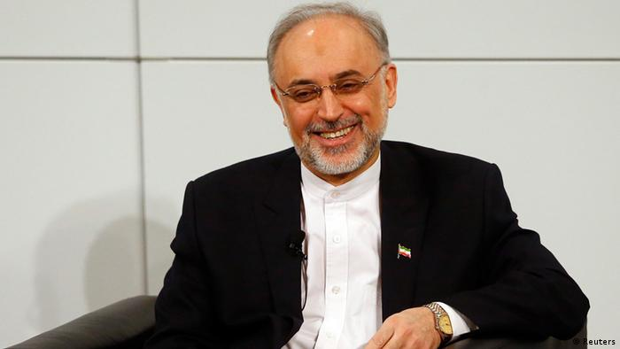 Iranian Foreign Minister Ali Akbar Salehi arrives at the 49th Conference on Security Policy in Munich February 3, 2013. Senior politicians along with the leader of the Syrian opposition are in Munich providing a rare opportunity for talks to revive efforts to end the civil war in Syria. REUTERS/Michael Dalder (GERMANY - Tags: MILITARY POLITICS)