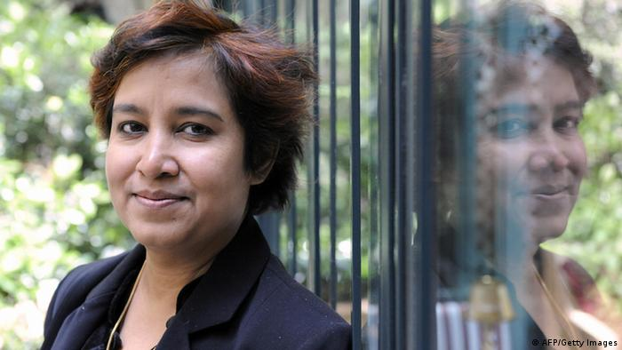 Taslima Nasreen (Photo: STEPHANE DE SAKUTIN/AFP/Getty Images)