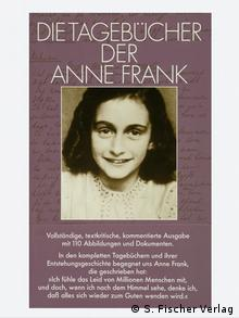 Cover of the German edition of the Diaries of Anne Copyright: S. Fischer Verlag
