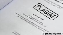 Symbolbild Plagiat