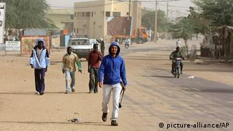 Zivilisten kehren nach Timbuktu zurück, 31.1. 2013 (Foto:AP)