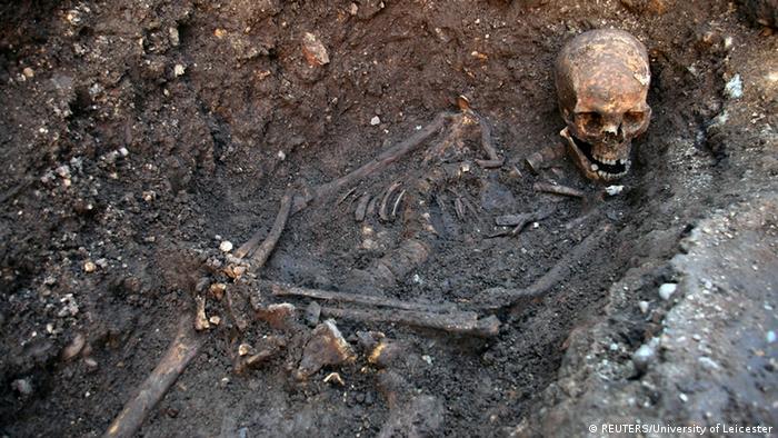 England Leicester Grab von Richard III.entdeckt