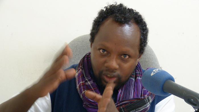 Titel: Temesgen Desalegne(Eine der bekanntesten Journalisten der freie Presse und Editor von Addis Timesin Addis Abeba,Ähiopien Schlagworte: Druck auf Pressefreiheit Fotograf : DW/Yohannes Gebreegziabher