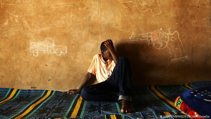 Afrika Tschad Kindersoldaten