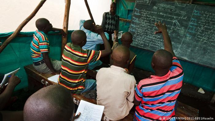 Afrika Goma Kongo Kindersoldaten Resozialisierung (© UNICEF/NYHQ2011-0351/Asselin)