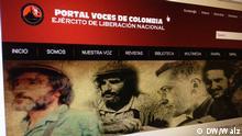 Kolumbien / Entführung / eln-voces.com / ELN / Rebellen