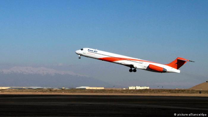 Afghanistan Flugzeug Kam Air