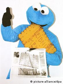 Cookie-monster s keksom