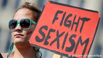 Protest gegen Sexismus in Hamburg, Foto:dpa