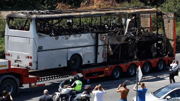 Anschlag Burgas (Reuters)