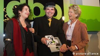 Uwe Tellkamp, his publisher, and the Frankfurt mayor