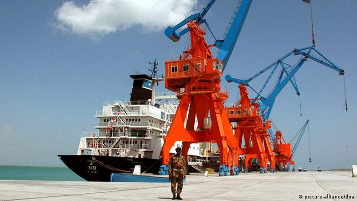 Pakistan Hafen Gwadar (picture-alliance/dpa)