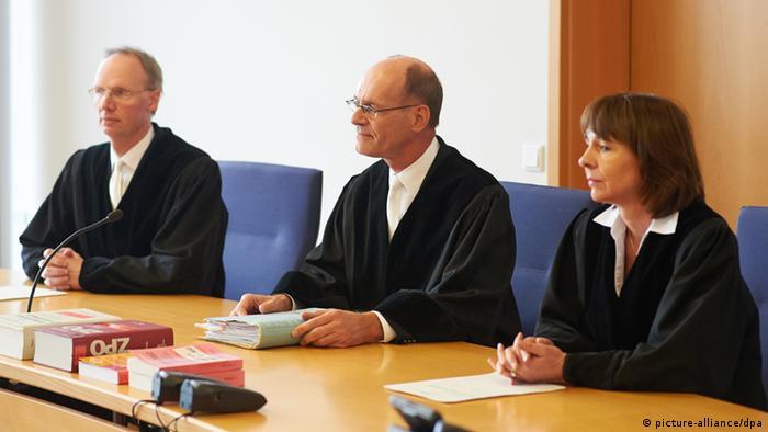Suci suda u Hammu u trenutku čitanja presude