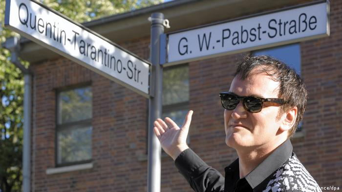 Quentin Tarantino Straße in Babelsberg