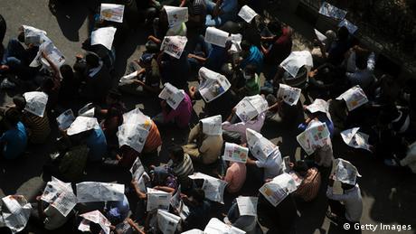 Dhaka Demonstrationen