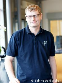 An image of gynecologist Dr. Andreas Hammel, who heads a sperm bank in Erlangen