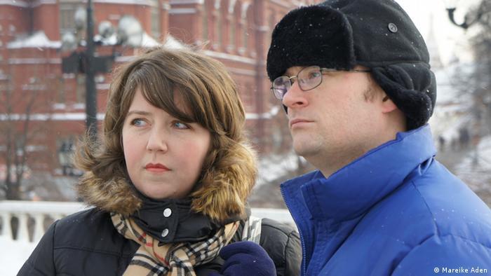 Дженни и Аарон Мойер в Москве