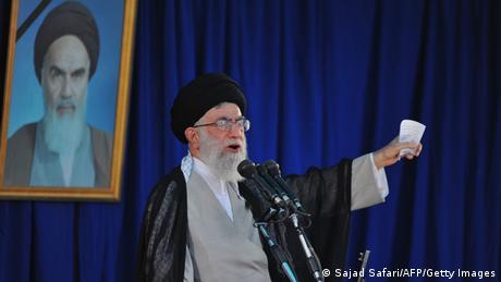 Iran Ajatollah Ali Chamenei Archivbild 2010