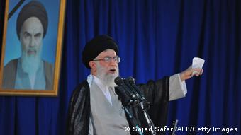Ayatollah Ali Khamenei Photo: SAJAD SAFARI/AFP/Getty Images