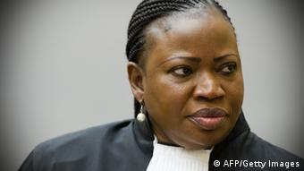 International Criminal Court chief prosecutor Fatou Bensouda ROBIN VAN LONKHUIJSEN/AFP/Getty Images)