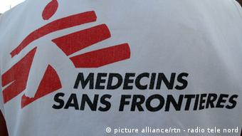 Doctors without Borders logo in French (c) picture-alliance/rtn - radio tele nord