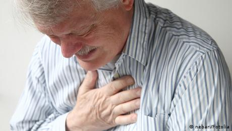 Deutschland Symbolbild Medizin Herzinfarkt