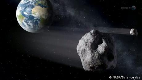 Asteroid fliegt knapp an Erde vorbei (NASA/Science dpa)
