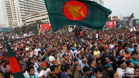 Bagladesch Demo Urteil Abdul Quader Mollah