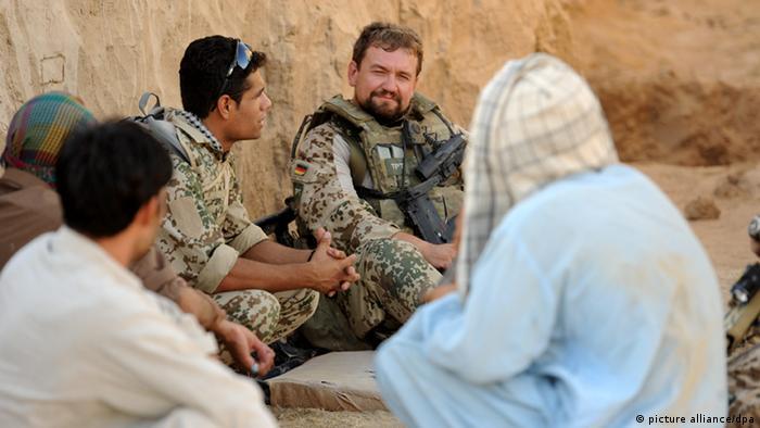 Deutsche Soldaten in Afghanistan Archivbild 2011