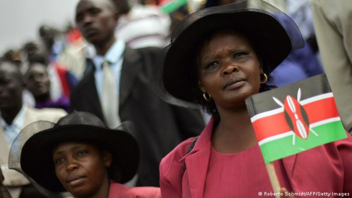 Kenia Frauen Politik 2007 (Roberto Schmidt/AFP/Getty Images)