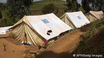 Flüchtlingslager Kigeme in Ruanda (AFP/Getty Images)