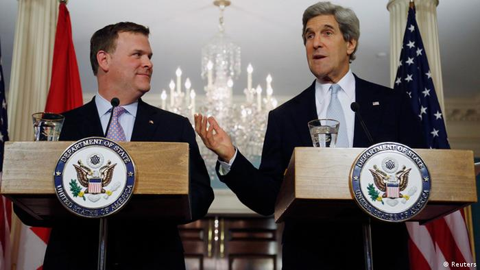 John Kerry na John Baird
