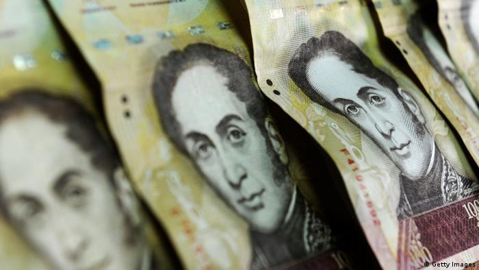 Venezuela Währung Bolívar Fuerte (Getty Images)
