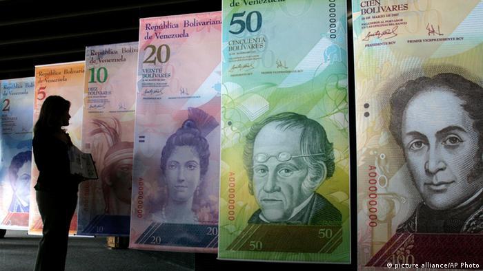 Dinheiro venezuelano: bolívares