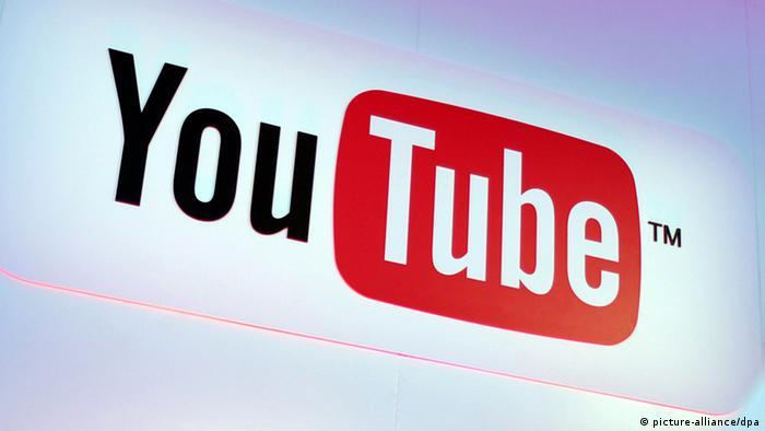 Logo Online-Videoportals YouTube, Foto: dpa