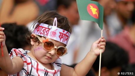 Bangladesh Protest gegen Kriegsverbrecher
