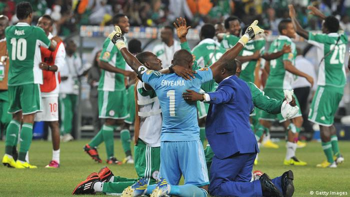 Sport Fußball Africa Cup of Nations 2013 Finale Nigeria Burkina Faso