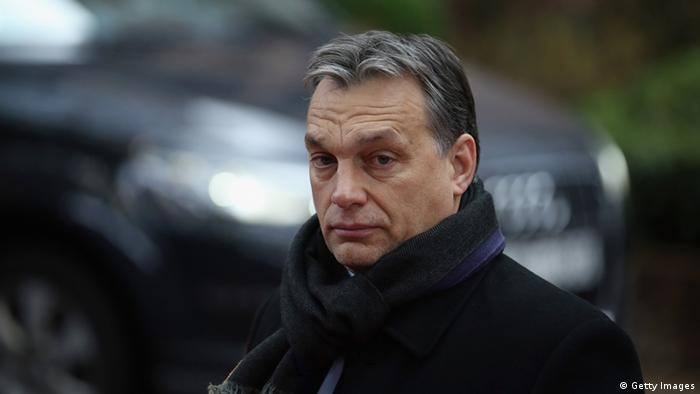 Viktor Orban . (Photo by Dan Kitwood/Getty Images)