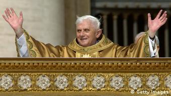 Papst Benedikt XVI Erste Messe 2005