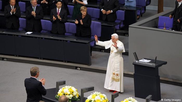 Папа римский в бундестаге