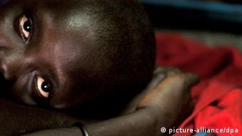 Uganda Ehemalige Kindersoldatin