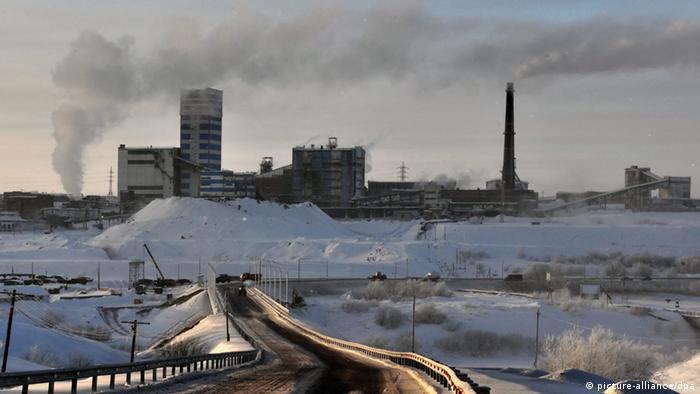 Workuta Russland Vorkutinskaya Mine Kohle