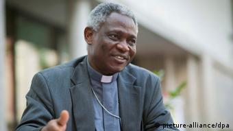 Cardenal Peter Turkson, de Ghana, posible candidato africano.