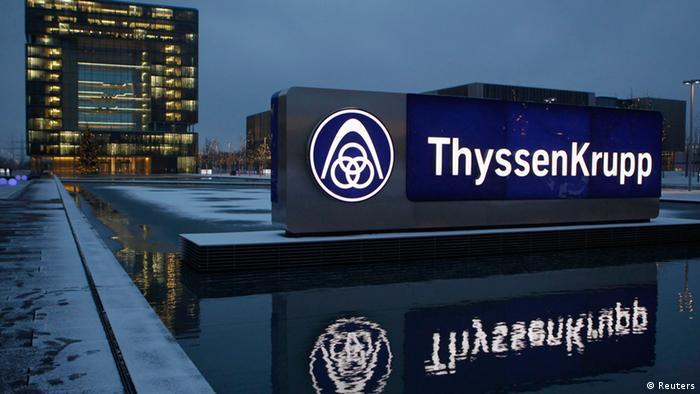 ThyssenKrupp HQ in Essen, Germany