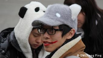 Chinesische Elemente beim Kölner Karneval