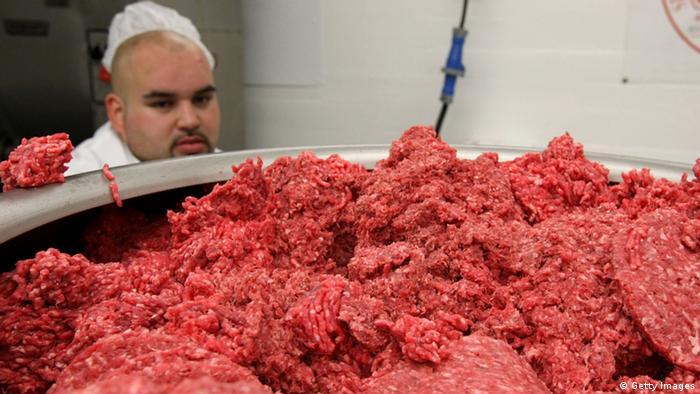 Lebensmittel Hackfleisch