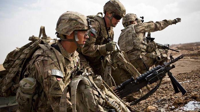 US army troups withdraw from Afghanistan